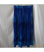 Papa Vancouver Long free-size long blue crinkly... - $9.00