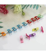 Magic Wonder Clips Plastic Sewing Craft Fabric Holding Accessories 10p... - $11.85