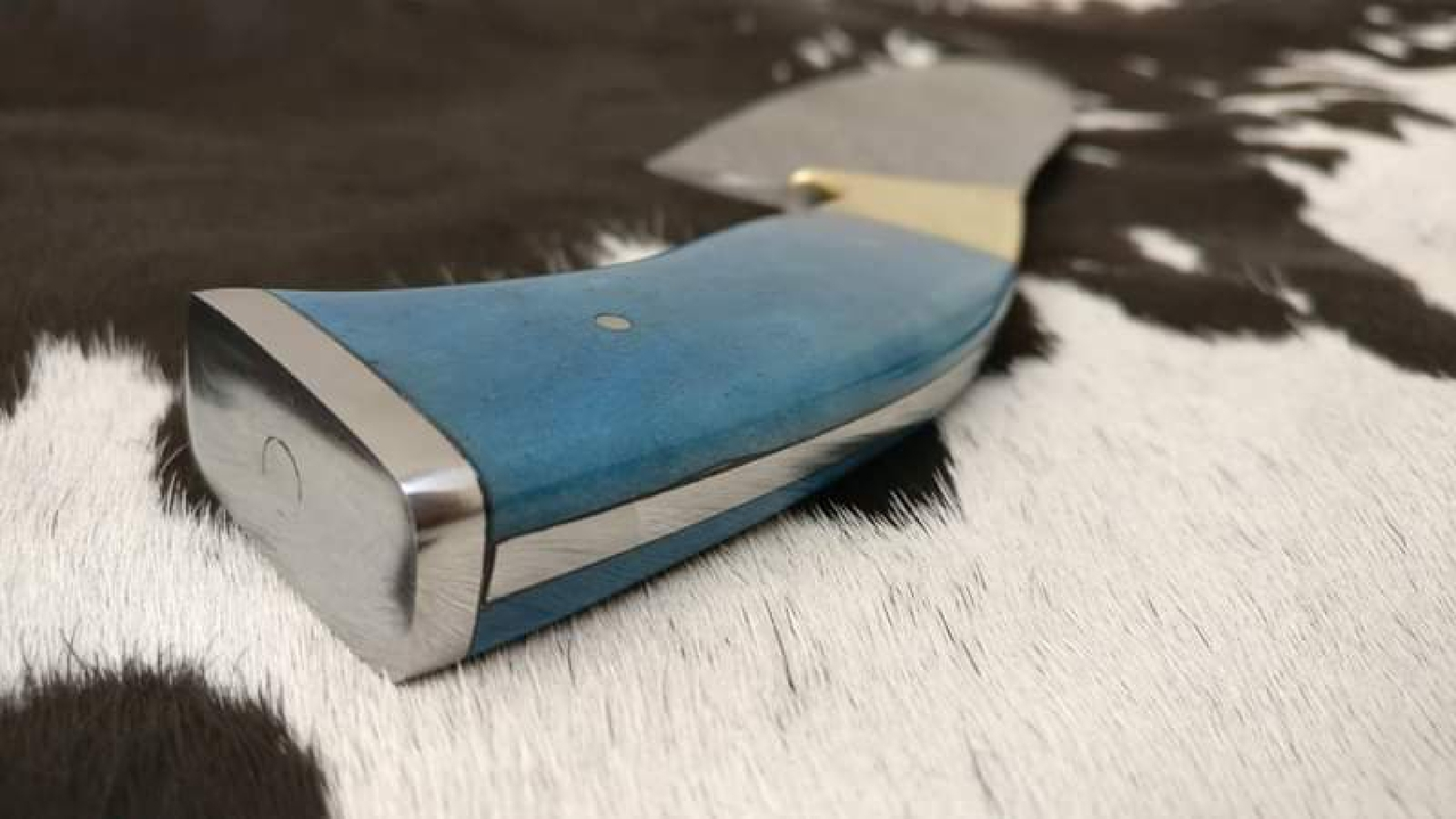 For Sale, Hand Made Chef Knife image 10