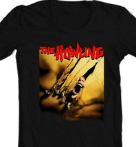 The Howling T Shirt retro horror 1980s werewolf movie 100% cotton graphic tee image 2