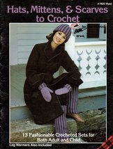 Hats, Mittens, and Scarves to Crochet #7825 Plaid 13 Fashionable Crochet... - $3.50