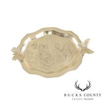 Arthur Court Aluminum Butterfly Serving Tray - $295.00
