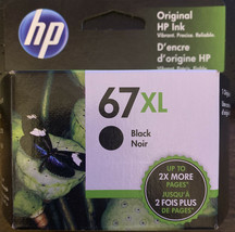 HP 67XL High Yield Black Original Ink Cartridge (3YM57AN) NEW! (Free Shipping) - $28.71