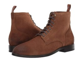 Cole Haan Men Feathercraft Grand Derby Boots Dogwood Suede C30039 - $44.36