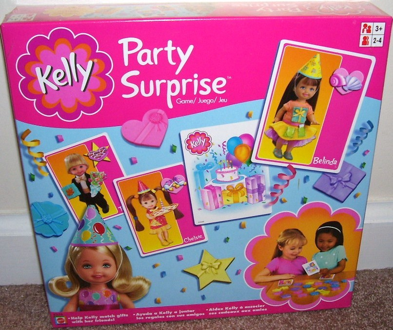 Kelly party surprise game