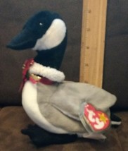 TY Beanie Baby LOOSY The Goose Plush Stuffed Animal NWT 3/29/1998 - $7.99