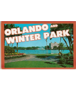 Orlando and Winter Park Vintage Postcard Folio - $7.00