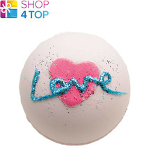 ALL YOU NEED IS LOVE BATH BLASTER BOMB COSMETICS ROSE HANDMADE NATURAL NEW - $5.83