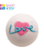 ALL YOU NEED IS LOVE BATH BLASTER BOMB COSMETICS ROSE HANDMADE NATURAL NEW - $5.54