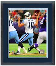 "Jake Locker 2013 Tennessee Titans - 11 ""x14"" Framed/Matted Portrait Plus - $836,92 MXN"