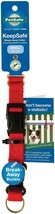 "Petsafe Keepsafe Break away Collar Red Medium 14"" to 20"" - $13.99"
