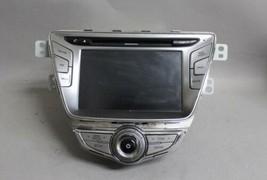 11 12 2013 Hyundai Elantra Radio Audio Cd Navigation Display Panel 965603X150RA5 - $327.06