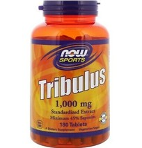 Now Foods, Sports, Tribulus, 1,000 mg, 180 Tablets - $30.70