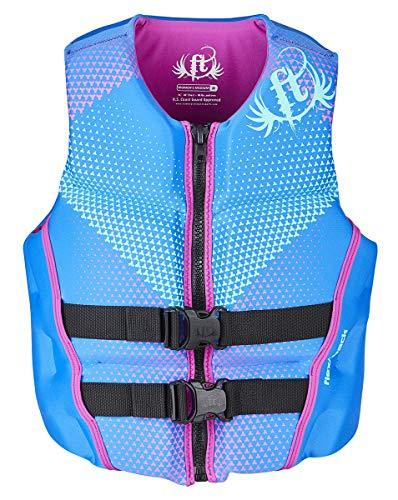 Primary image for Full Throttle Women's Rapid Dry Flex-Back Life Jacket, Blue, Large
