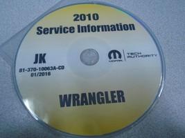 2010 JEEP WRANGLER Service Shop Repair Manual C... - $197.99