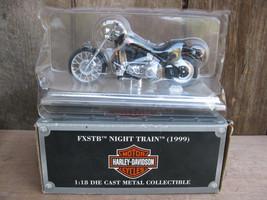 Maisto Avon 1999 Harley Davidson FXSTB Night Train c 1:18 - $11.87