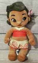 "Disney Store Animator's Collection Moana Plush Stuffed Doll 12"" - $19.39"
