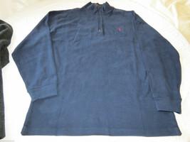 Polo Ralph Lauren Jersey Pulóver Camisa Grande y Alto L Alto Hombre Azul Marino - $47.43