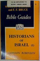 Historians of Israel 1: 1 and Samuel, 1 and 2 Kings (1962) (5) [Paperback] Robin