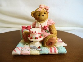 Cherished Teddies Birthday Bear Age 21 European Exclusive UIB - $49.45