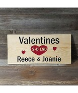 Personalized Custom Carved Wood Sign Rustic Plaque Home Decor Valentines - $89.99