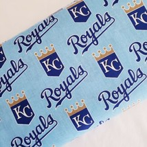 Kansas City Royals Fabric Traditions 6641 Baseball MLB Cotton Blue 60 In... - $14.95