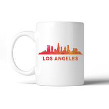 365 Printing Polygon Skyline Multicolor Downtown White Mug - $14.99