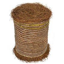 Longleaf Pine Straw Roll for Landscaping - Non-Colored - Covers Up to 125 Square