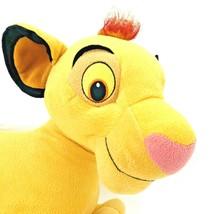 "2002 Simba Lion King Plush 20"" Disney Hasbro Jumbo Large Stuffed Animal - $23.74"
