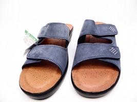 Flexus by Spring Step Aditi-DNMN Women's Sandal Denim Blue Nubuc Size EU 37  - $53.20