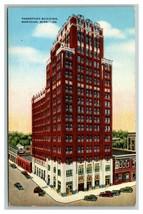 Vintage 1930's Postcard Threefoot Building Meridian Mississippi Antique ... - $15.81