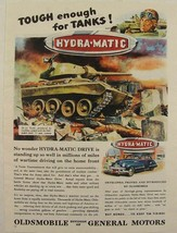 1945 WWII M-24 TANK U.S. Army Oldsmobile 75mm Cannon Ad - $19.99
