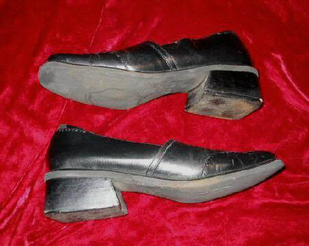 Mens Artiva Lites Leather Black Shoes Loafers 10M 10 M Brazil