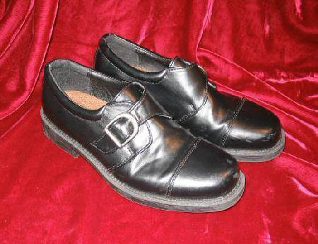 Mens or Big Kids Youth Chancellors Black Dress Shoes Loafers 4