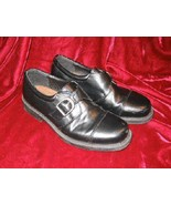 Mens or Big Kids Youth Chancellors Black Dress Shoes Loafers 4 - $14.50