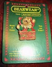 Mint Boyds Bears Bearwear Jack B. Twinkletune Resin Pin 5008 - $5.99