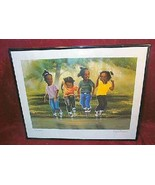 "T. Richard  Simple Pleasures Signed Framed Print 20"" x 15"" - $29.95"