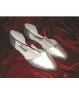 Vintage Jasmin Silver Shoes Pump Heel Sandals 8.5 - $12.00