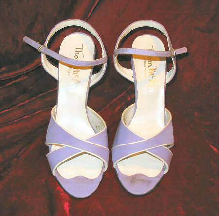 Viontage Thom McAn Dress Shoes Heels Pumps 8.5 Bridal USA