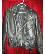 Wilsons Bikers Leather Jacket Coat Thinsulate L - $65.00