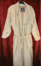 Womens London Fog Thinsulate Trench Coat Raincoat 12 - $65.00