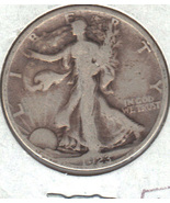 Nice 1923 S Walking Liberty half dollar. - £15.09 GBP