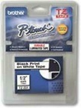 """Brother 1/2"""" Laminated Tape for Select TZ-Compatible P-Touch Ele - $8.90"""