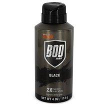 Bod Man Black by Parfums De Coeur Body Spray 4 oz for Men - $10.79