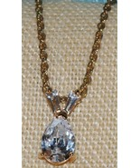 Crystal Pendant with Baguettes - $8.00