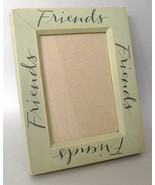 Picture Frame Wood Green Shabby Chic Friends 3 X 5 Photo French Country ... - $19.00