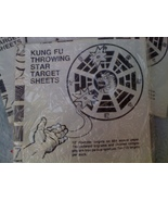 PAPER TARGET SHEETS - STAR THROWING PRACTICE - $2.50