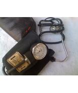 Vintage Blood Pressure Cuff & Stethoscope Sphygmomanometer  - $13.00