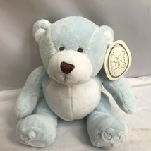 "Koala Baby Teddy Bear Baby Blue White Sewn Eyes Plush 7"" New With Tags Nwt - $24.93"