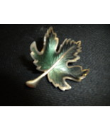 Maple Leaf Brooch - $37.00